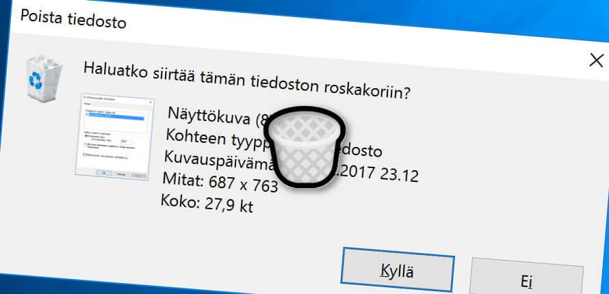 Salasanan Poisto Windows 10