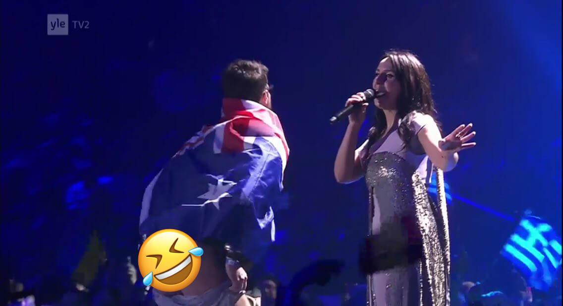 Eurovision 2017 butt