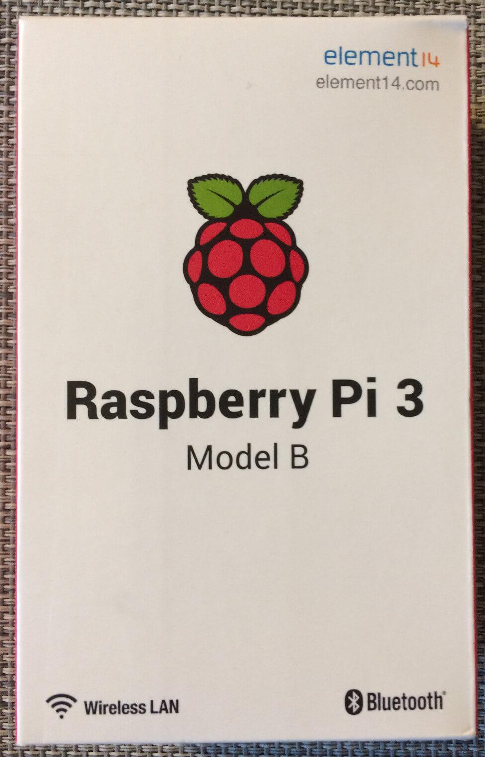 Raspberr Pi 3 box