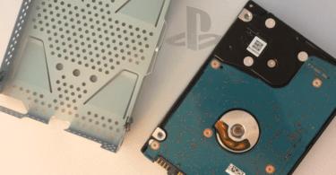 PS4:n kiintolevyn vaihtaminen