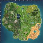 Fortnite Season 5 map