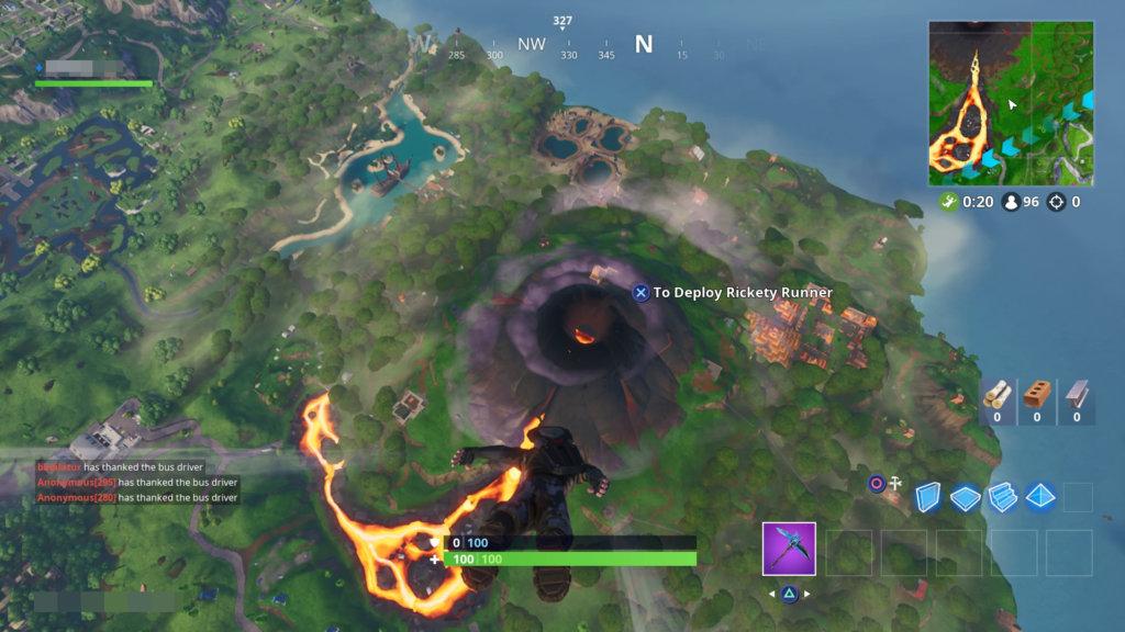 fotnite season 8 volcano
