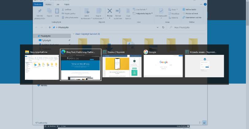 Windows 10 Alt+Tab